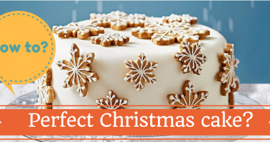 How to make a perfect Christmas cake?