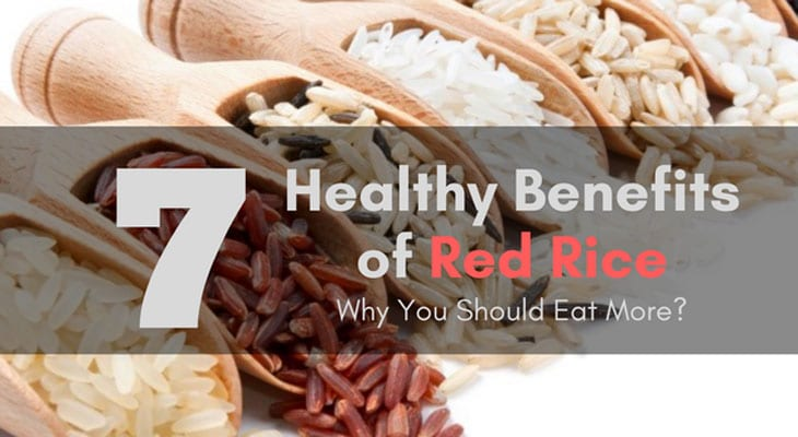7 Health Benefits of Red Rice and Why You Should Eat More 1 #cookymom