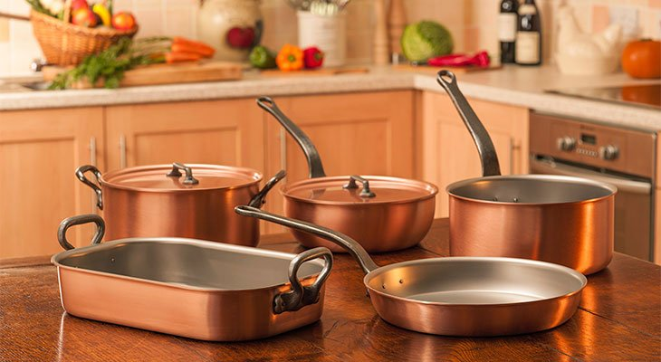 Best Copper Cookware Reviews 2018: Top 5+ Recommended