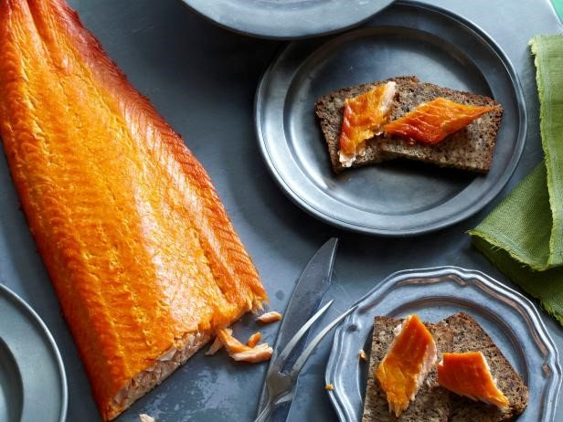 How to store the smoked salmon in the freezer?