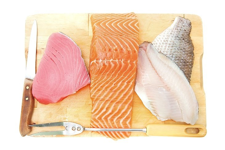What the types of fish that can be frozen?