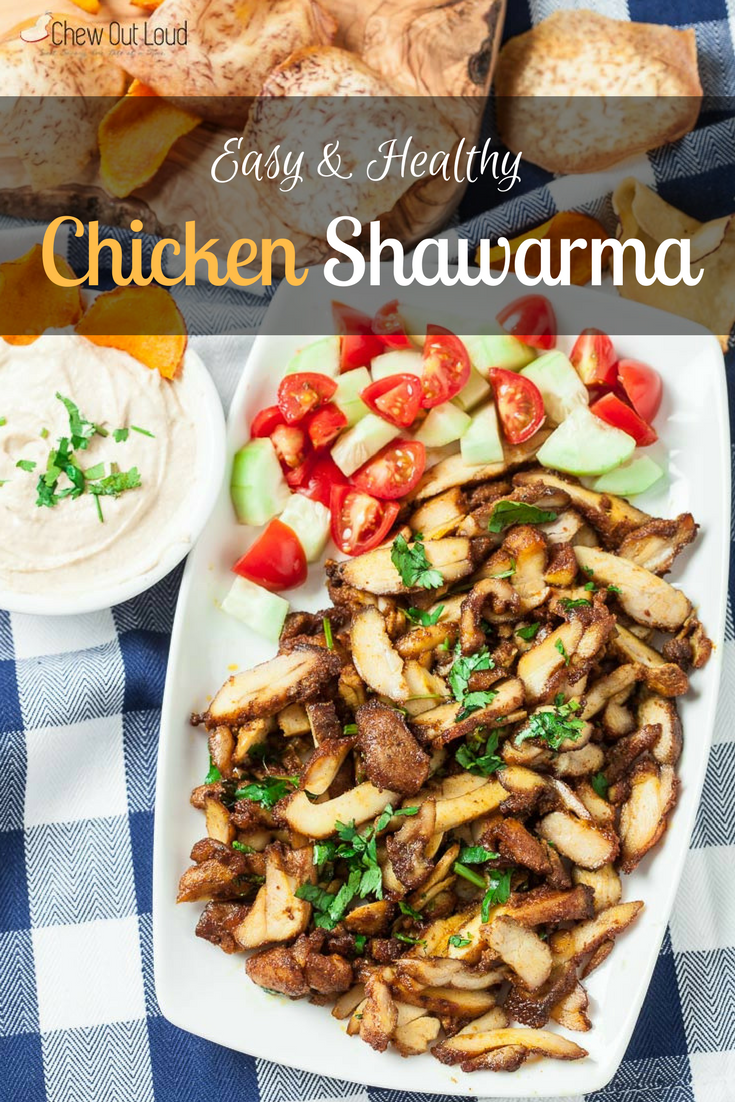 Chicken Shawarma (Easy & Healthy)