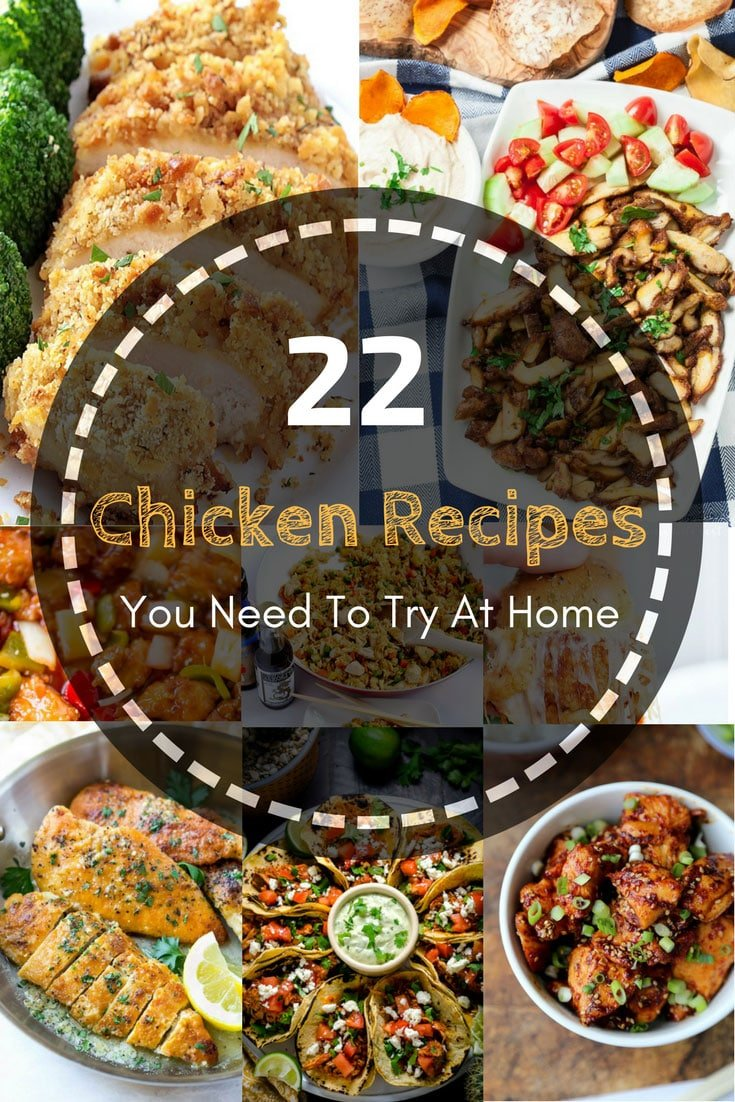 22 Chicken Recipes You Need To Try At Home 5 #cookymom