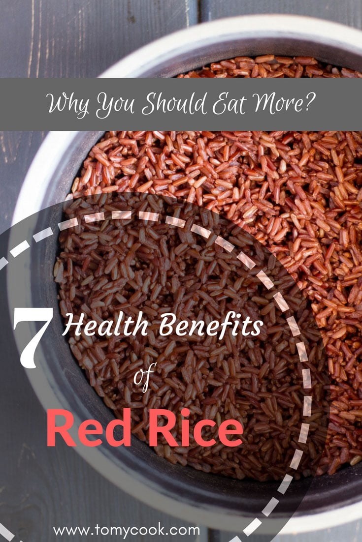 7 Health Benefits of Red Rice and Why You Should Eat More 9 #cookymom