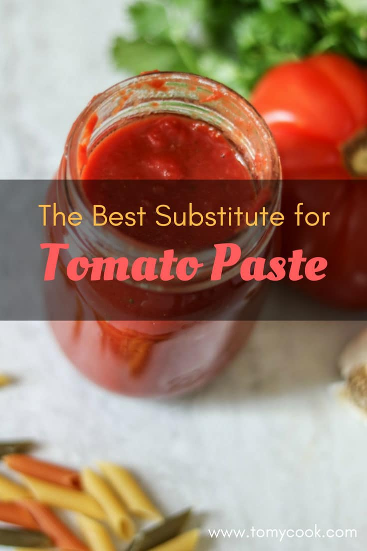 The Best Substitute for Tomato Paste You Can Use 2 #cookymom