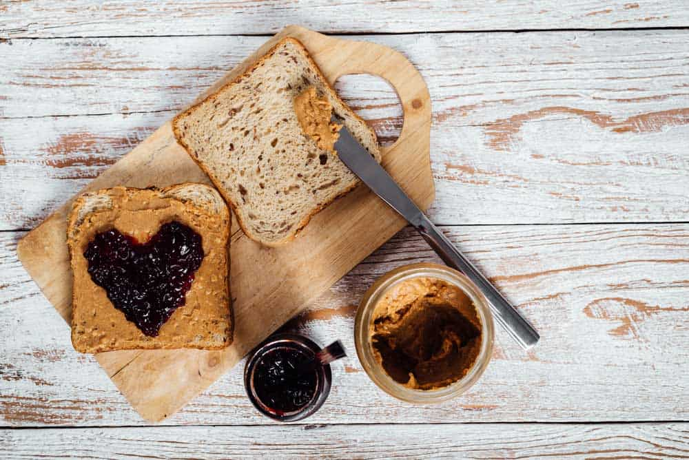 How Many Calories Does A Peanut Butter Sandwich Have? 4 #cookymom